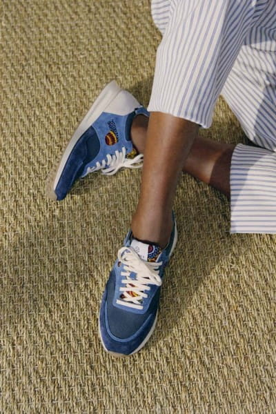 African Fair Trade Sneaker - Arusha Baltic