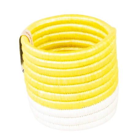 Katakuru Korb - 10cm - Recycelt Gelb