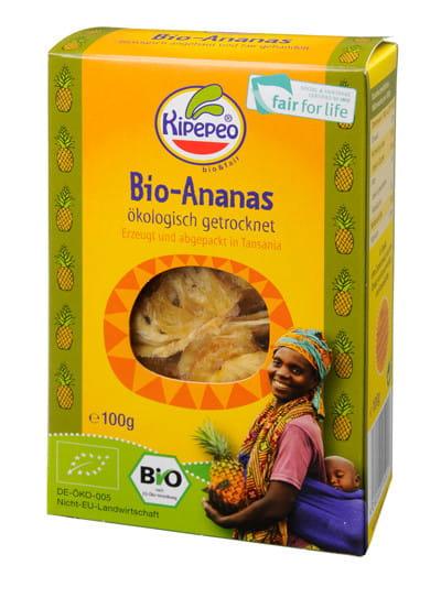Getrocknete Ananas - Bio - Tansania