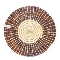 Tischset - 36cm - Braun