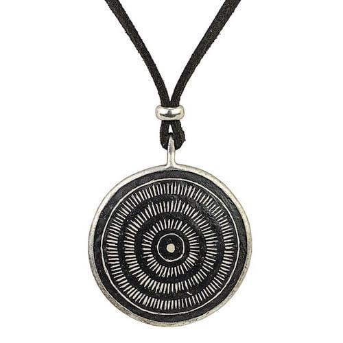 Karma Halskette - Aura - Straußenei