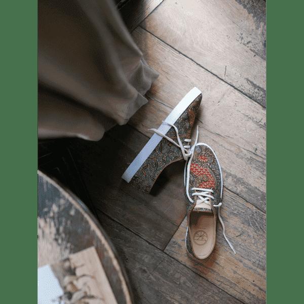 African Fair Trade Sneaker - Luanda