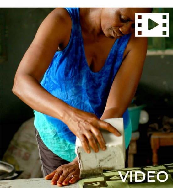 Afrikanische Kissenhüllen - Unity 50x50 - Grau