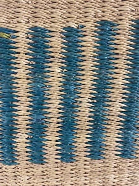 Bolga Korb - Cape Coast - Viele Farben - Oval