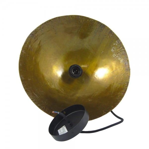 Upcycling Deckenlampe - Ölfass XL - Gelb