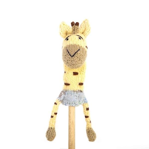 Fingerpuppe Giraffe Gogo Olive