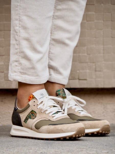 African Fair Trade Sneaker - Arusha Sable