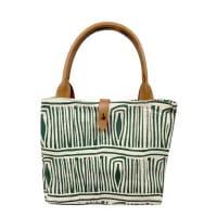 African Tote Bags - Safari - Tukul Green