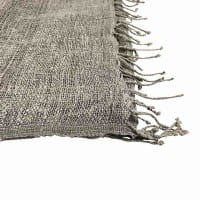 Queen Eleni - Schal aus Seide - Unisex - Grau