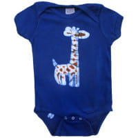 Bio Baby Strampler - Giraffe - Kurzarm