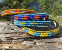 Massai Armband - Tsavo Leder - Unisex