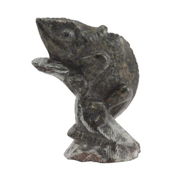 Gecko aus Stein