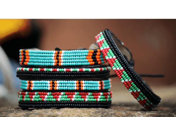 Massai Armband - Pole Pole Leder - Unisex