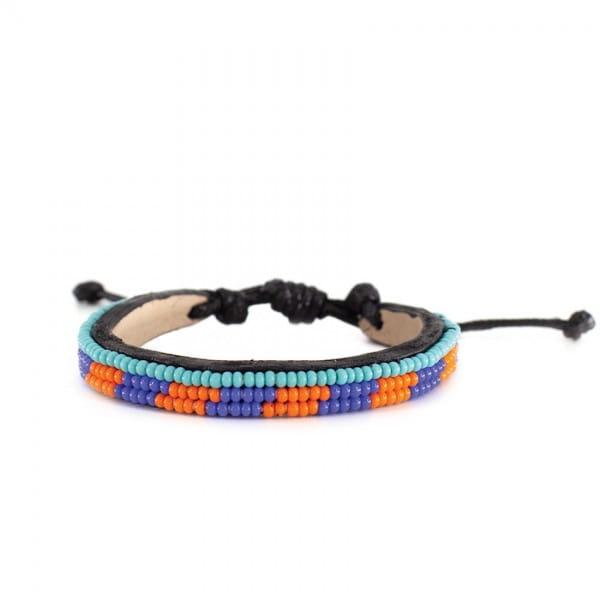 Massai Armband - Lumi Leder - Unisex