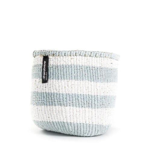 Kiondo Korb XS - Stripes - Hellblau