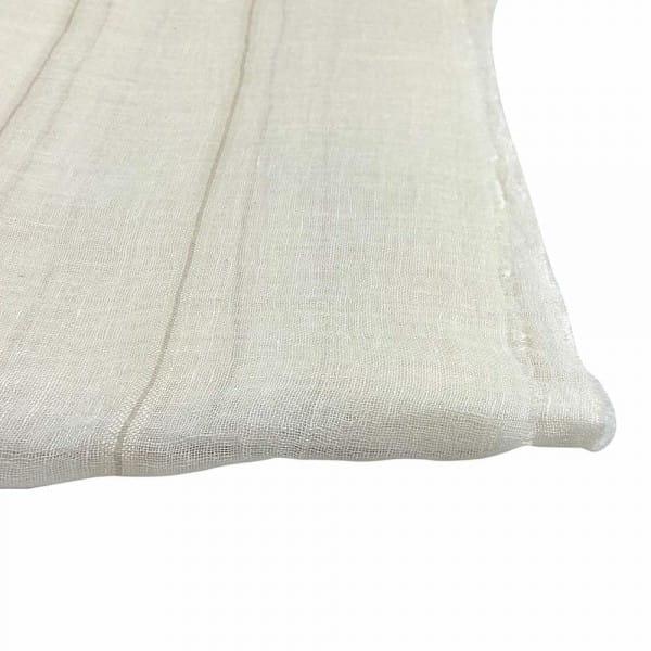 Adina - Schal aus Leinen - Stone