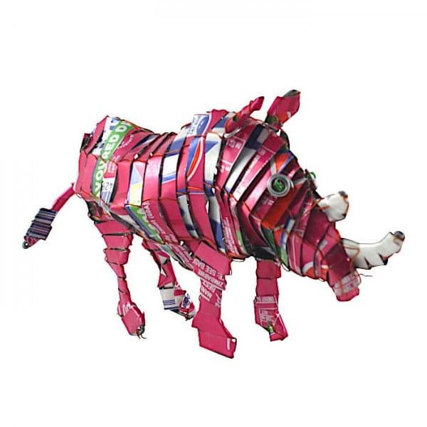 Nashorn - Recycling Blechtiere - M