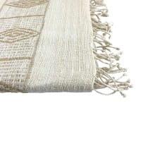 Queen Menon - Schal aus Seide - Unisex - Beige
