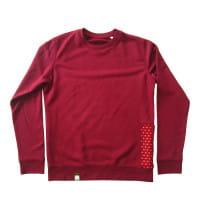 Shwe Shwe - Unisex - Burgundy - Organic Sweater