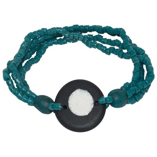 Full Circle Armband Blaugrün