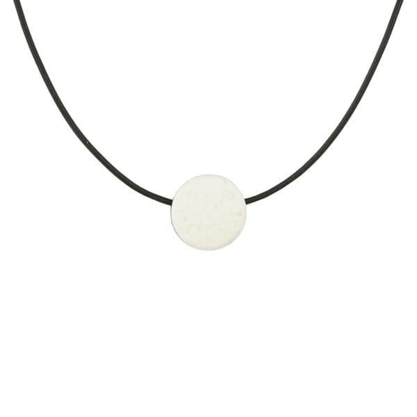 Blume des Lebens - Halskette Unisex - Straußenei