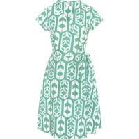 Wrap Dress - Shields Sage - Grün