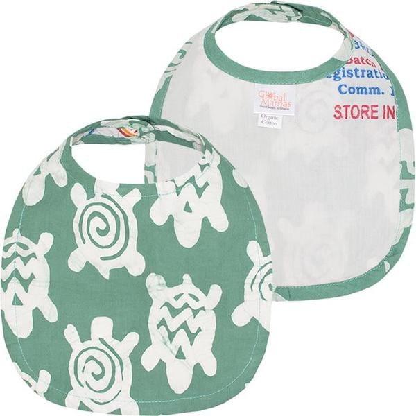 Bio Baby Lätzchen - Turtle - Grün