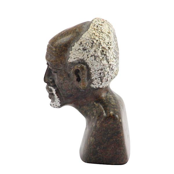 Afrikanische Büste - Mann