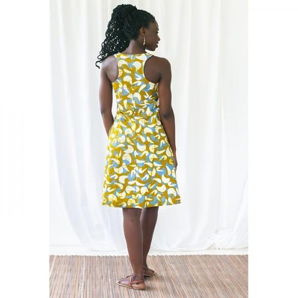 Kleider aus Afrika Oaklynn Dress Global Mamas Organic Bio Fairtrade