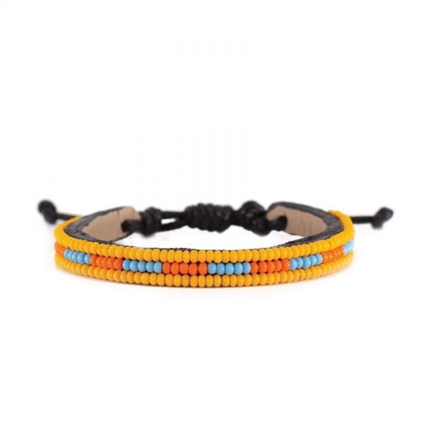 Massai Armband - Juba Leder - Unisex