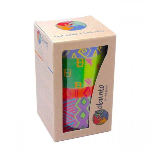 Geschenkbox - SHAHIDA - 1 x Kerze - 7x11,5cm