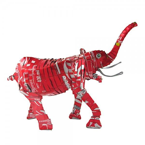 Elefant - Recycling Blechtiere - M