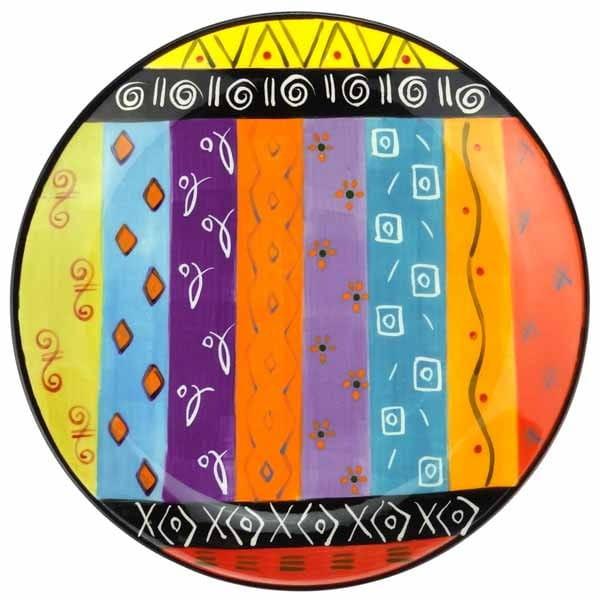 Multicoloured Ethnic Geschirr Kapula Afrika