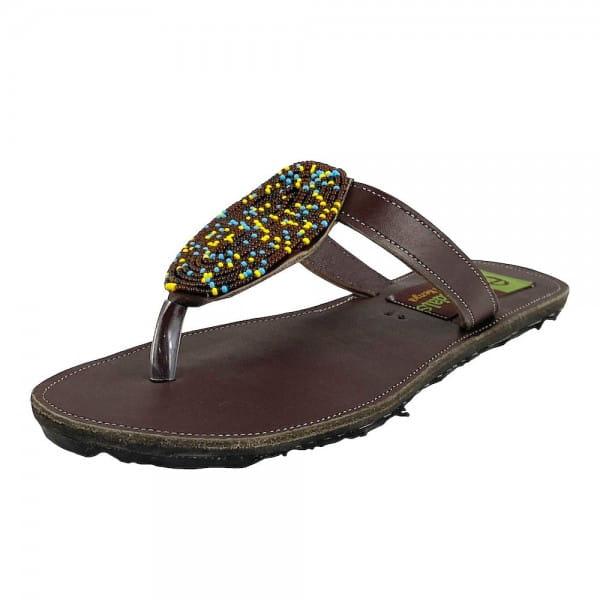 Afrikanische Sandalen - Safi - Braun