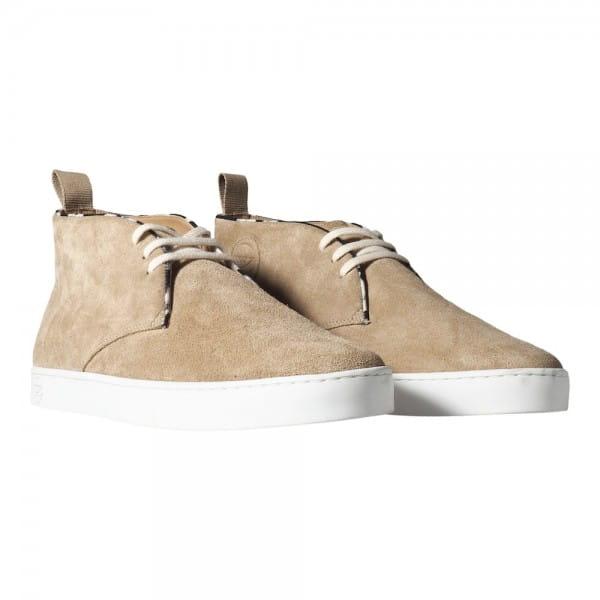 Braune Wildleder Boots Schuhe Panafrica