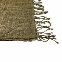Queen Eleni - Schal aus Seide - Unisex - Olive