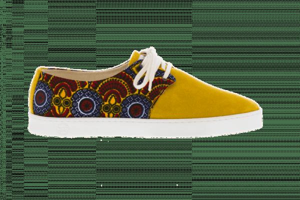 African Fair Trade Sneaker - Casablanca