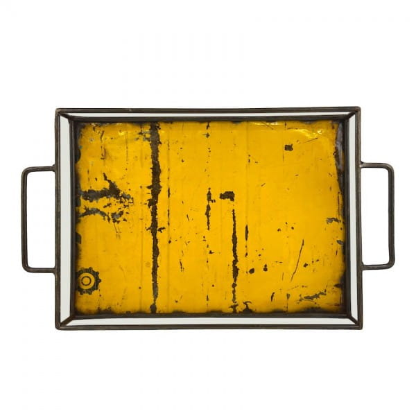 Industrial Design Tablett Moogoo Creative Africa Ölfass Upcycling