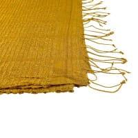 Queen Saba - Schal aus Seide - Unisex - Goldgelb