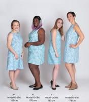 Boardwalk Dress - Canopy Blue - Blau