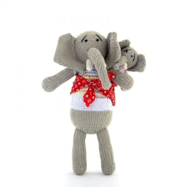 Elefant Kuscheltier - Nzou - Mama & Baby