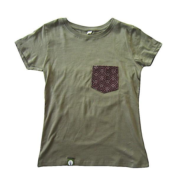 Shwe Shwe Tasche - Woman - Khaki - Organic Shirt