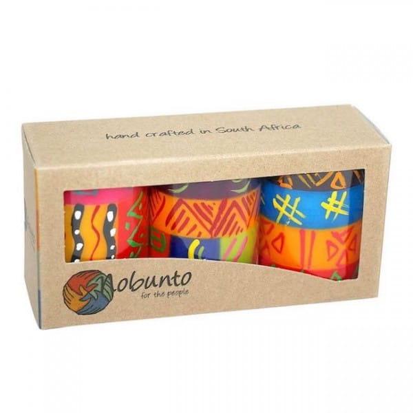 Nobunto Geschenkbox bunte Kerzen Shahida