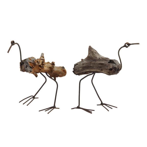 Schwemmholz Kunst - Vogel