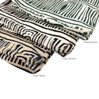 African Tote Bags - Safari - Tukul Navy