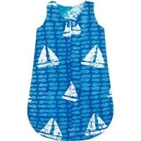Baby Schlafsack - Bio Baumwolle - Sailing Blau