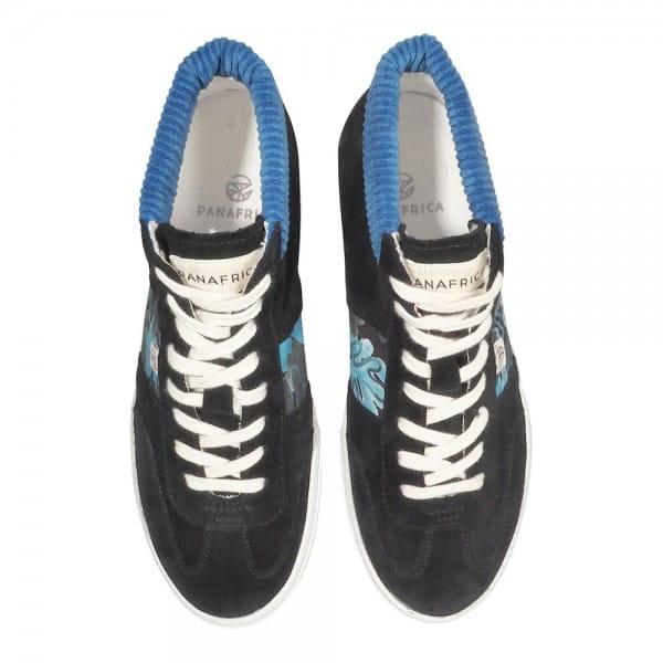 African Fair Trade Sneaker - Harmattan Mid Ebène