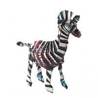 Zebra - Recycling Blechtiere - M