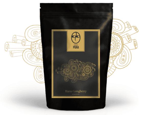 Kaffee Harar Longberry Äthiopien Bio