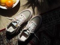 African Fair Trade Sneaker - Arusha Pastell